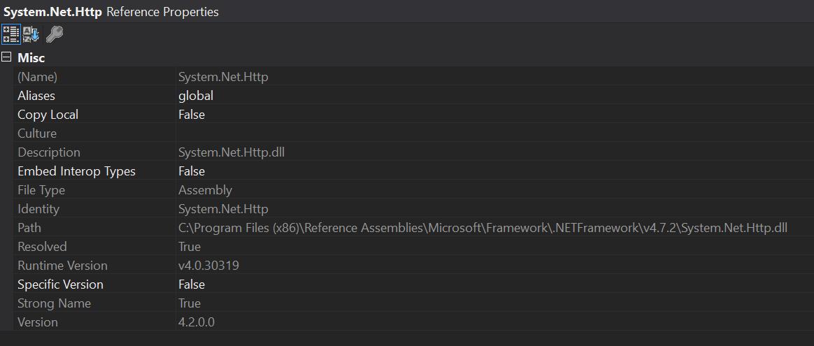 System Net Http NuGet broken for  NET 4 7 2 · Issue #29622