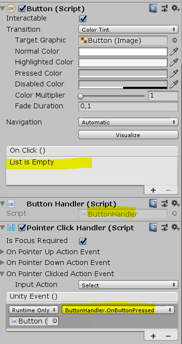 Unity UI Buttons do not work with WMR Motion Controllers