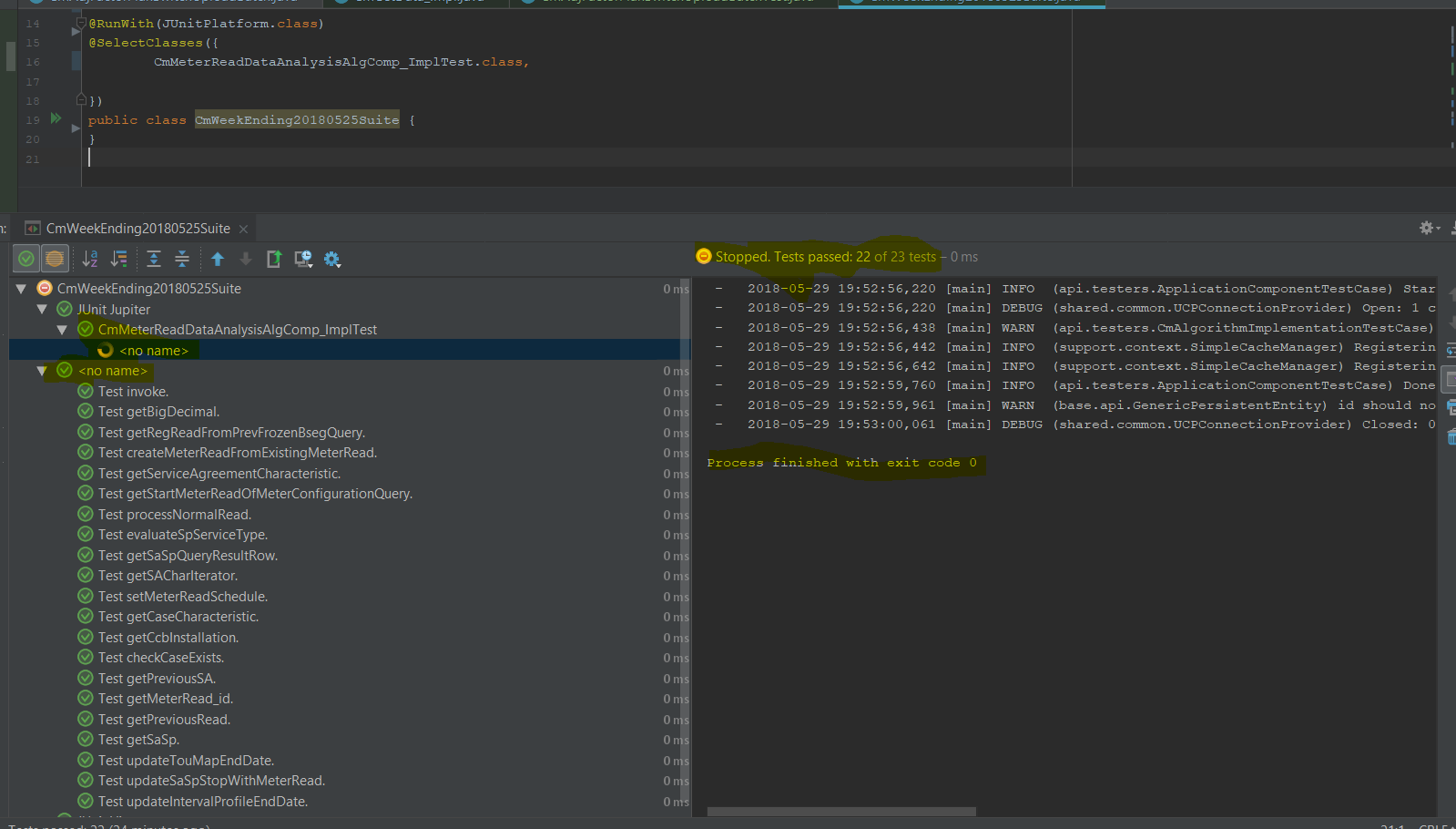 Running Test suite with a @TestFactory method · Issue #1435