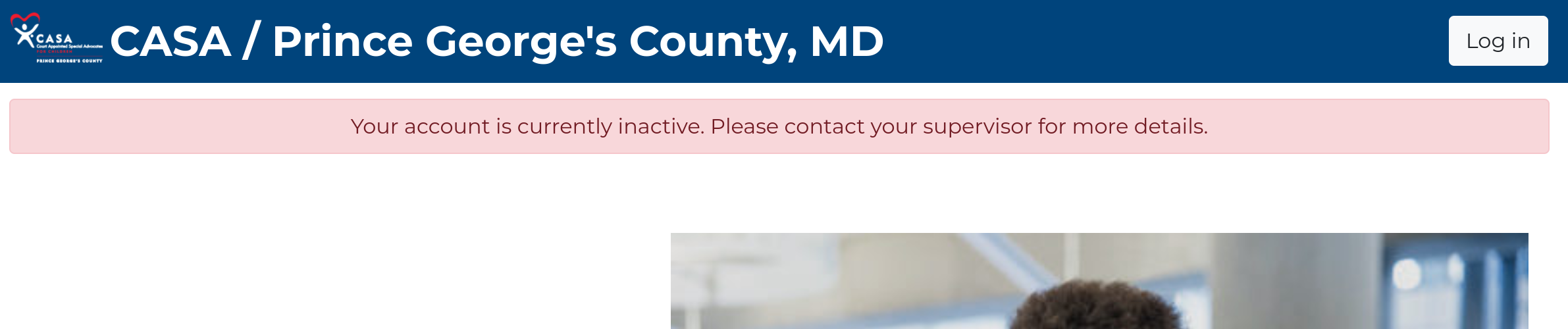 inactive user message
