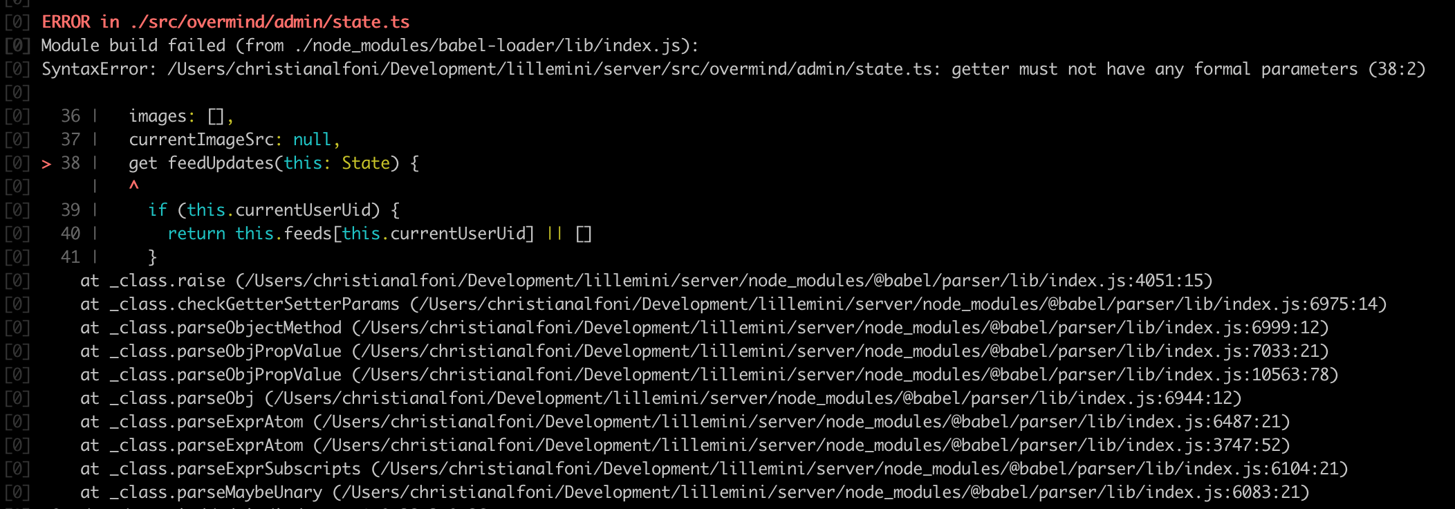 babel/plugin-transform-typescript not supporting fake