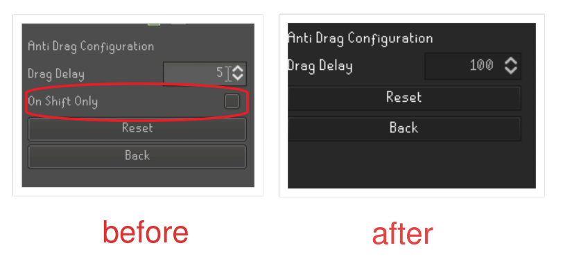 where is the anti drag config toggle? · Issue #3269