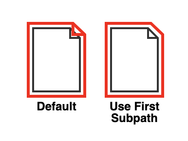 Use First Subpath