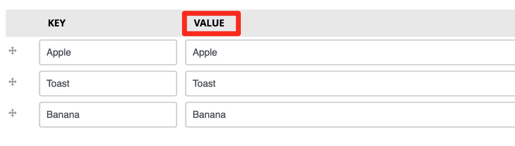 value-label