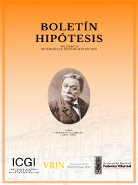 Boletín Hipótesis Vol.15