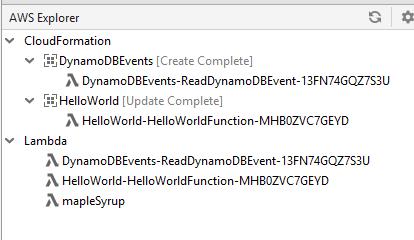 Add CloudFormation to AWS Explorer · Issue #165 · aws/aws