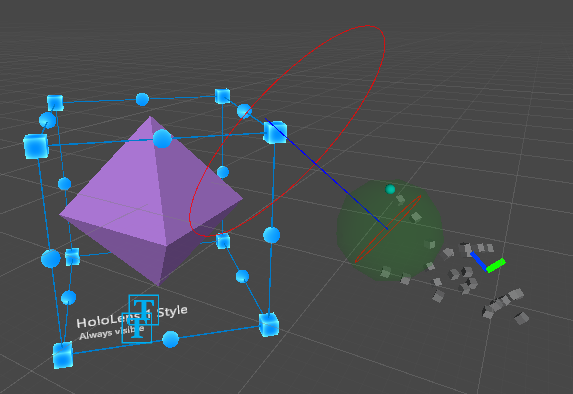 Sphere pointer modified to only query for objects in the forward direction