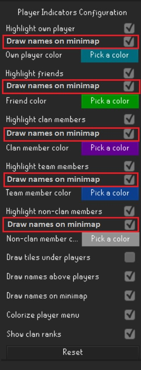 Player Indicators Configuration · Issue #3592 · runelite