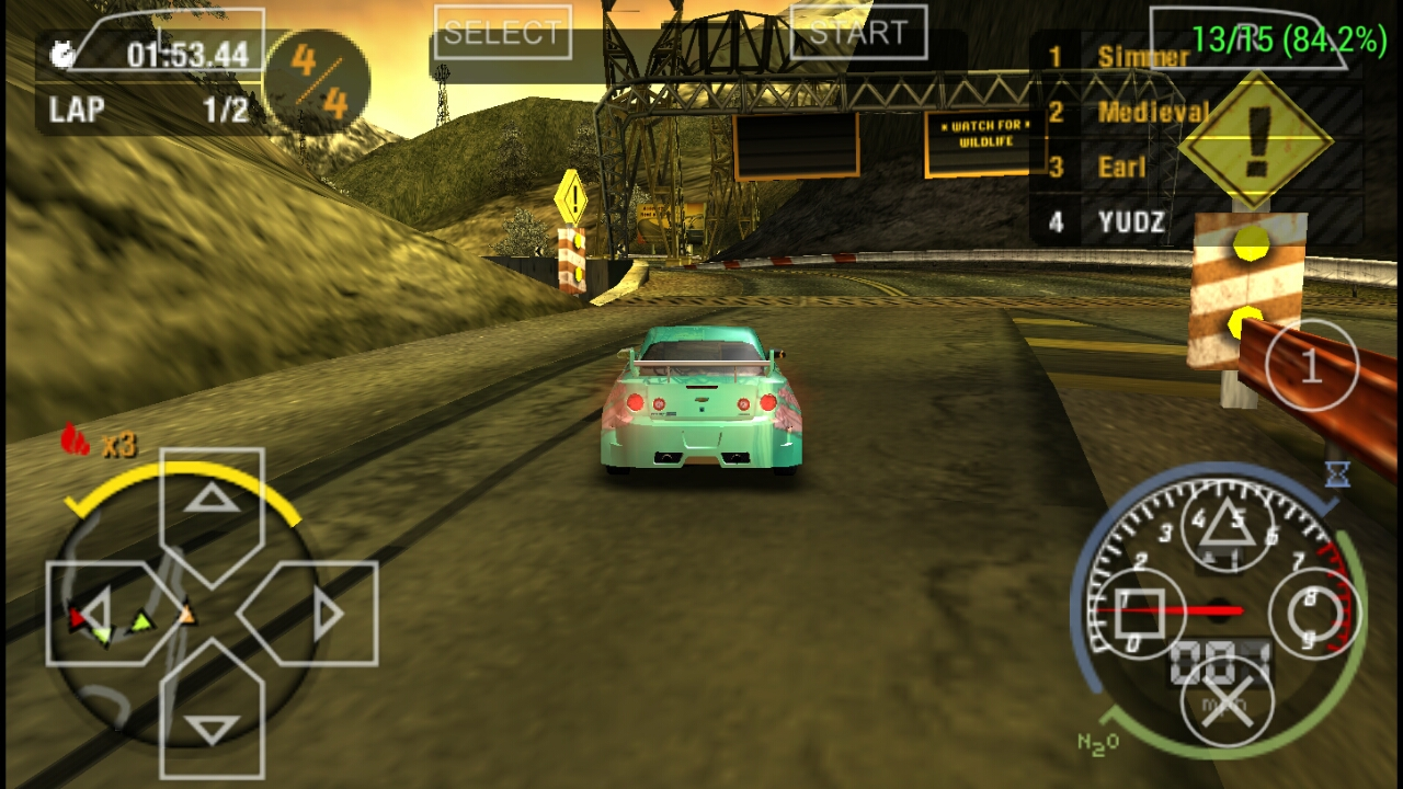 need for speed carbon psp review