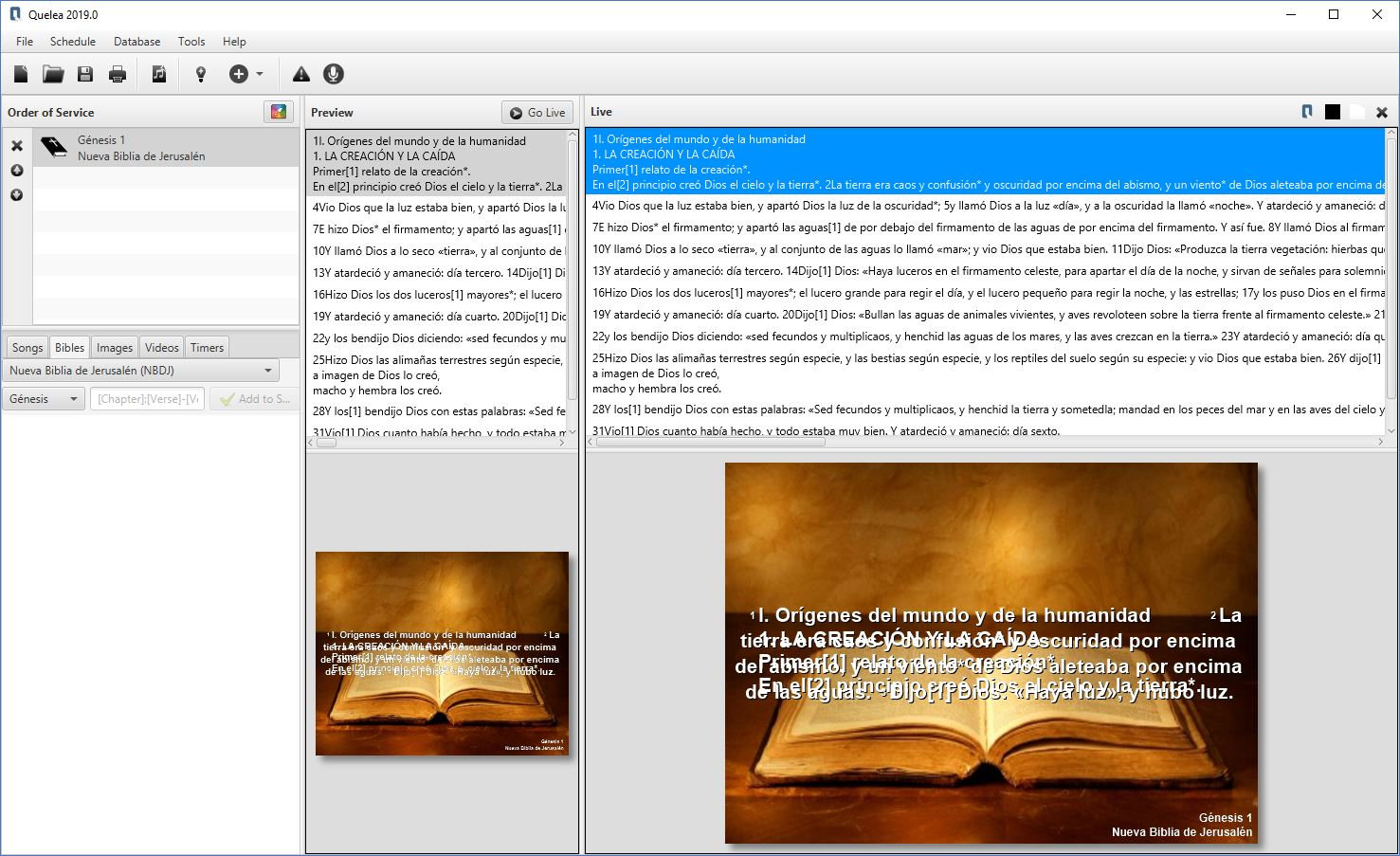 Add suport for bibles  xmm (openlp) · Issue #97 · quelea