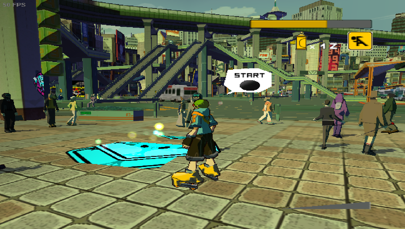 Jet Set Radio Future [PAL] [49470018] · Issue #703 · Cxbx