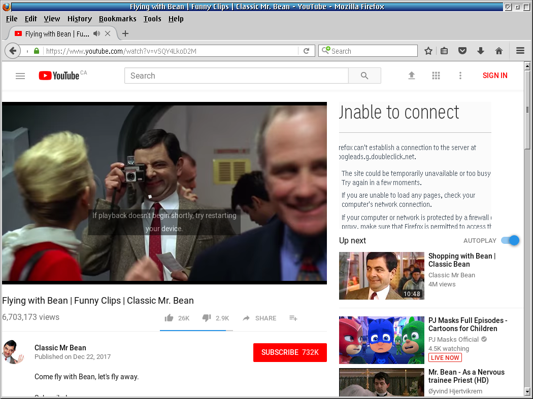 youtube com takes really long time to load · Issue #266