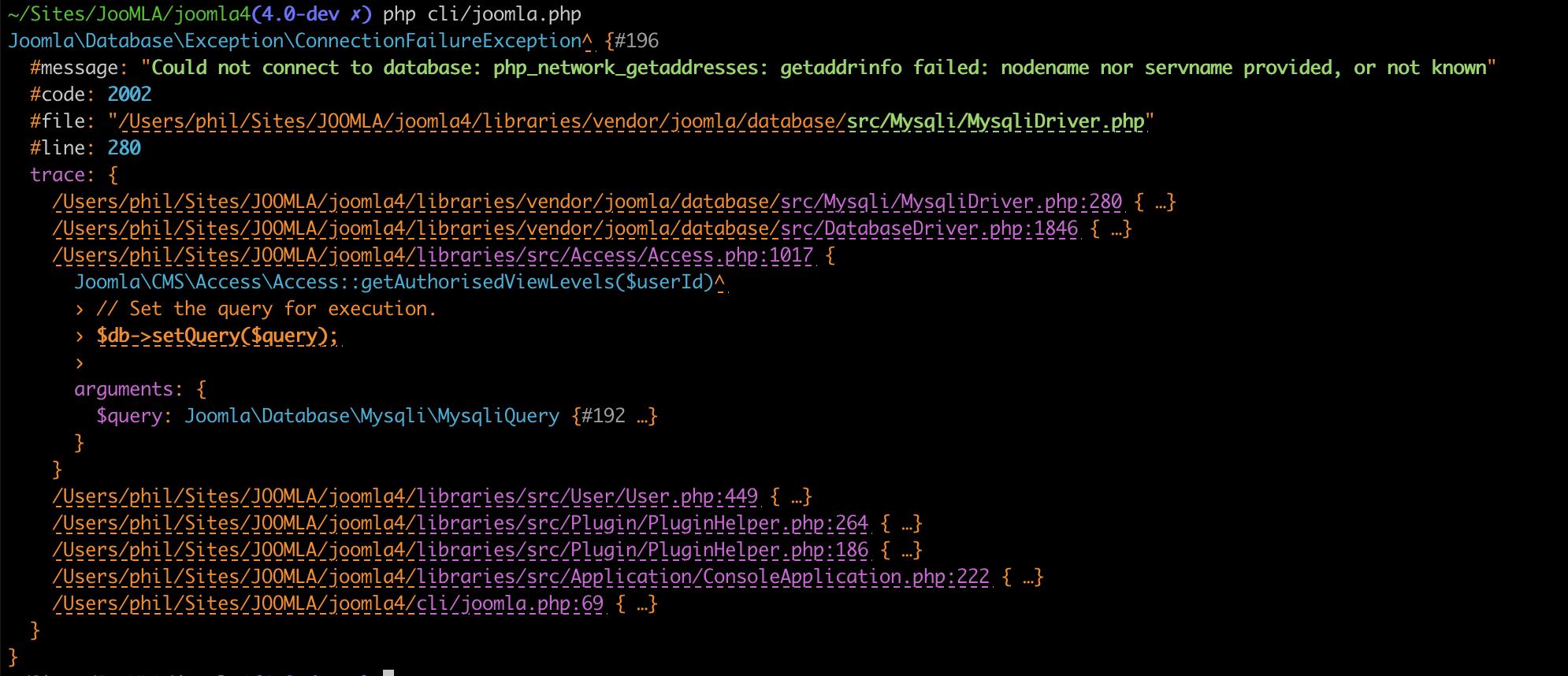 Joomla application builder