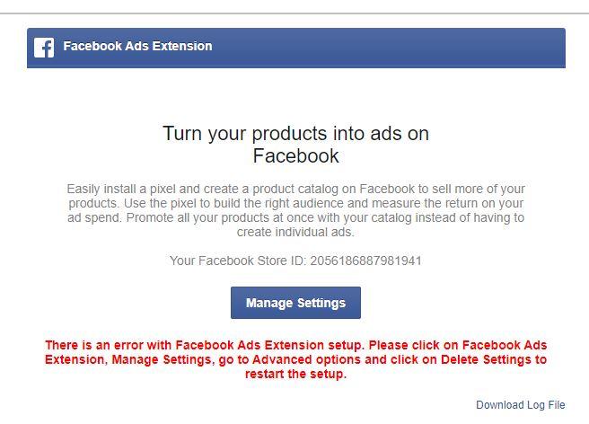 Delete facebook photos extension