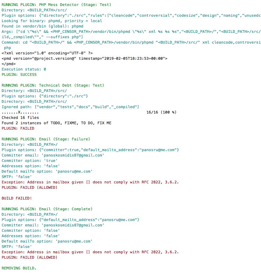 Build failing · Issue #270 · php-censor/php-censor · GitHub