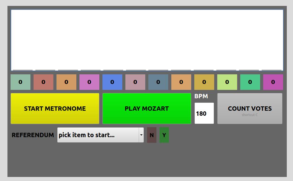 Conductor GUI · Issue #9 · brunoruviaro/Mozart_Dice_Game