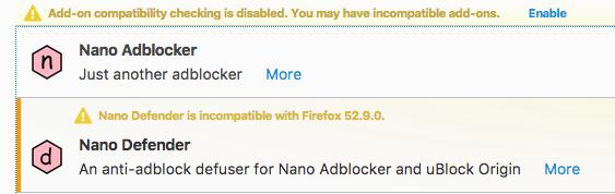 Nano Defender Firefox