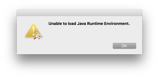Unable to load Java Runtime Environment · Issue #144