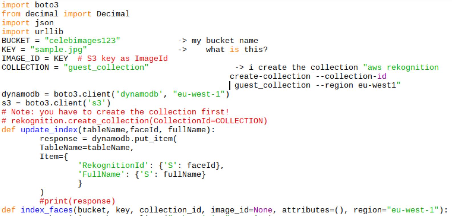 Amazon Rekognition - Python Code Samples · GitHub