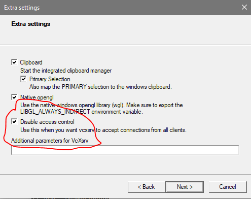 Can't use X-Server in WSL 2 · Issue #4106 · microsoft/WSL
