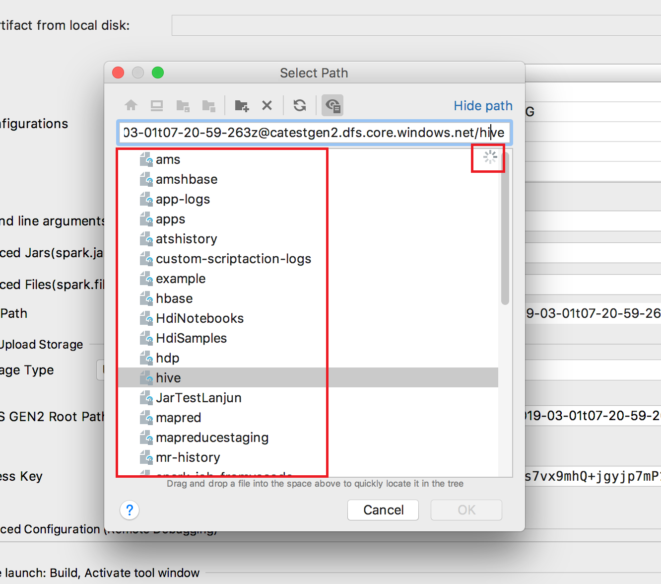 IntelliJ][Mac][ReferProject] The file inside the container