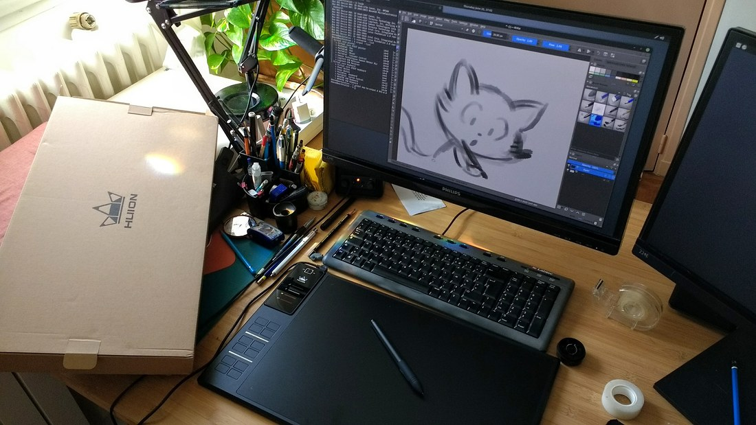 Adding Support tho Huion WH1409 - How to? · Issue #51