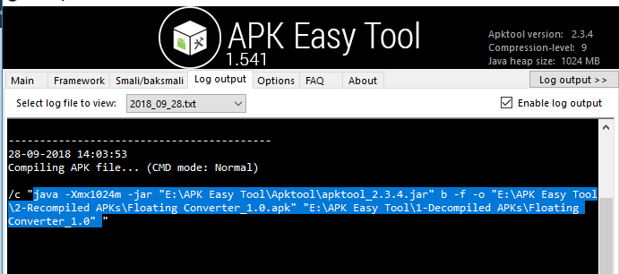 Error while trying to compile framework-res apk file · Issue #1906