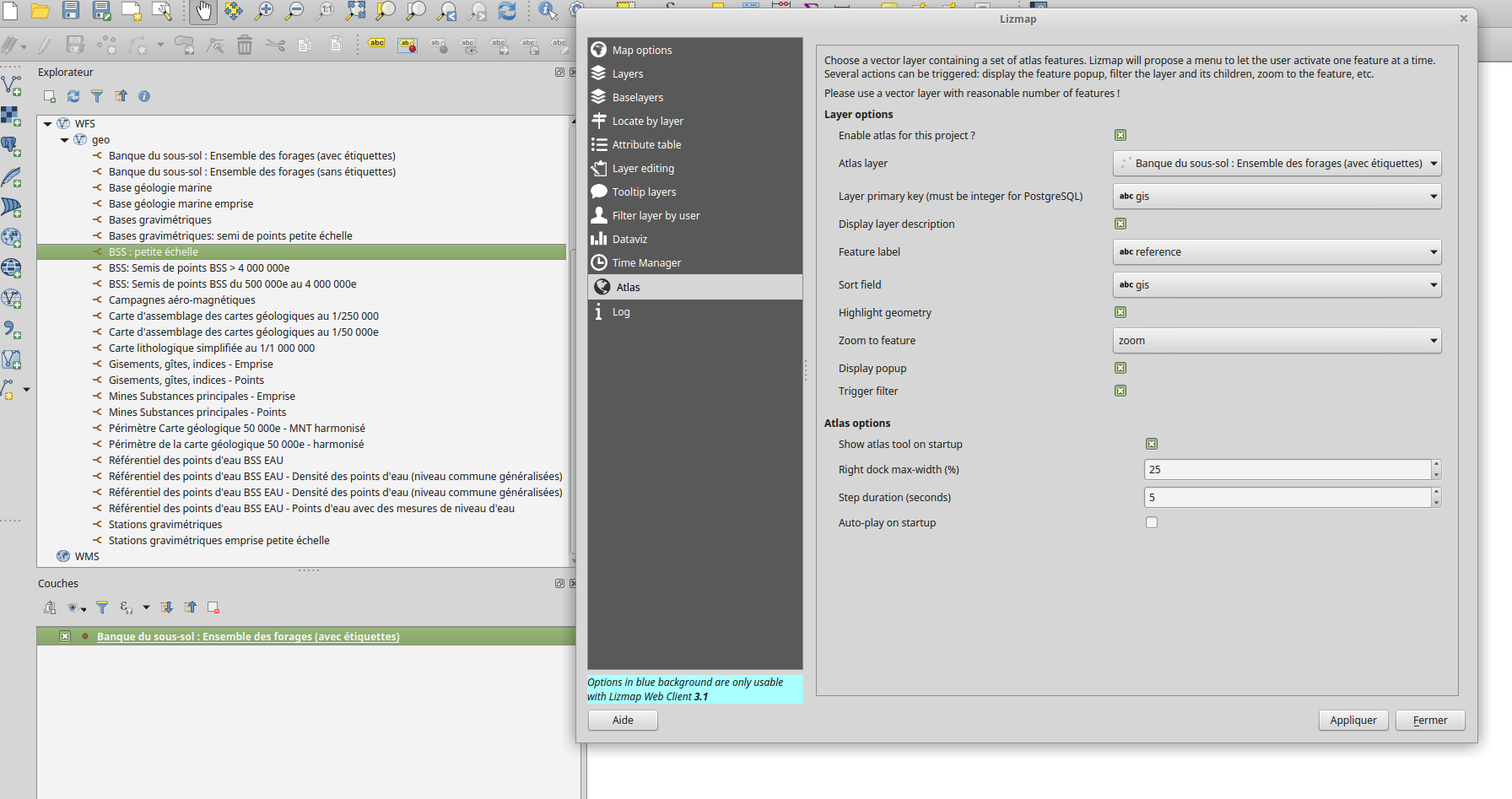 Atlas menu is not opening · Issue #737 · 3liz/lizmap-web