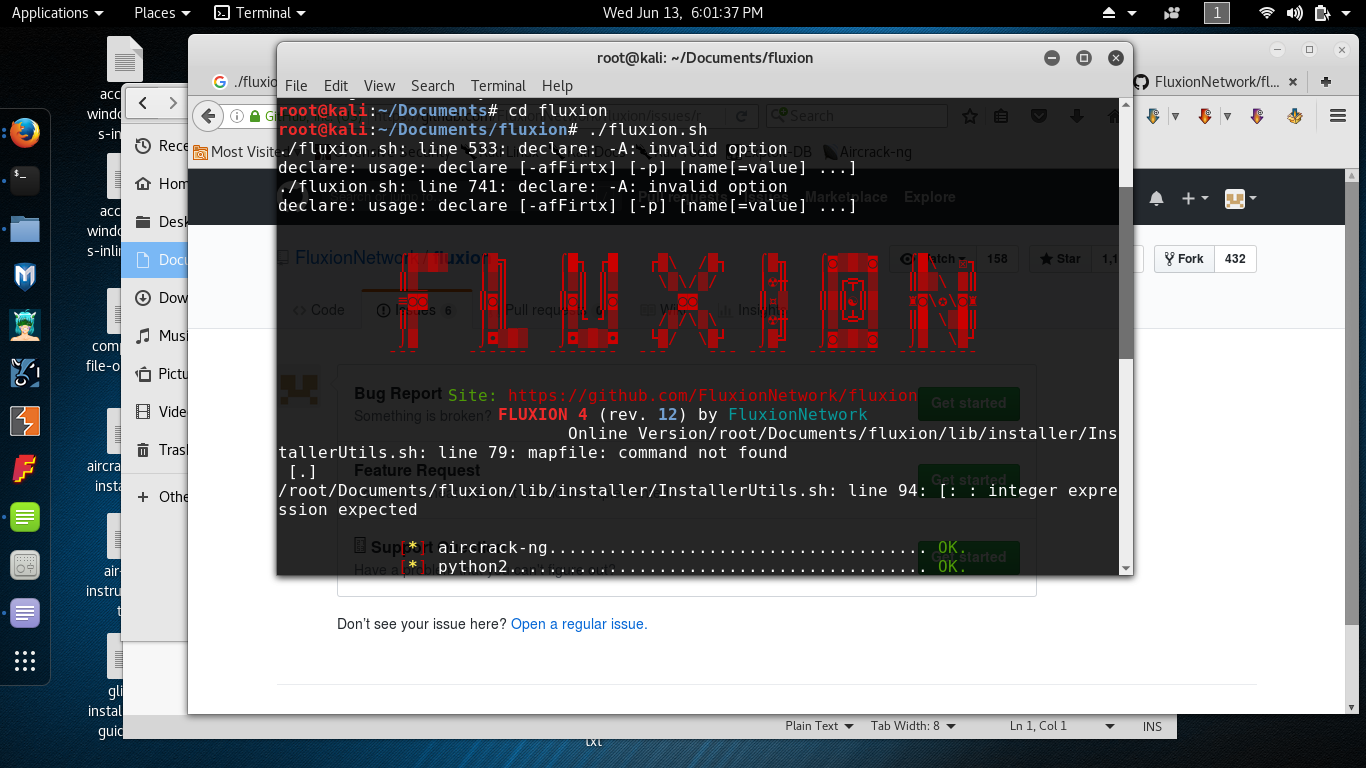 Fluxion 4 rev 12- doesn't run · Issue #538 · FluxionNetwork/fluxion