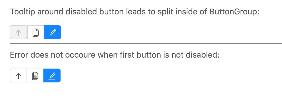 Codepen Button Group