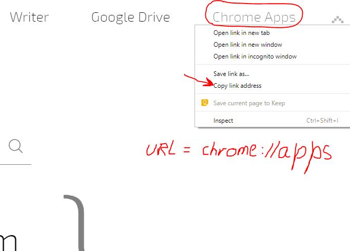 URL chrome://apps/ Not Working · Issue #87 · bluecaret