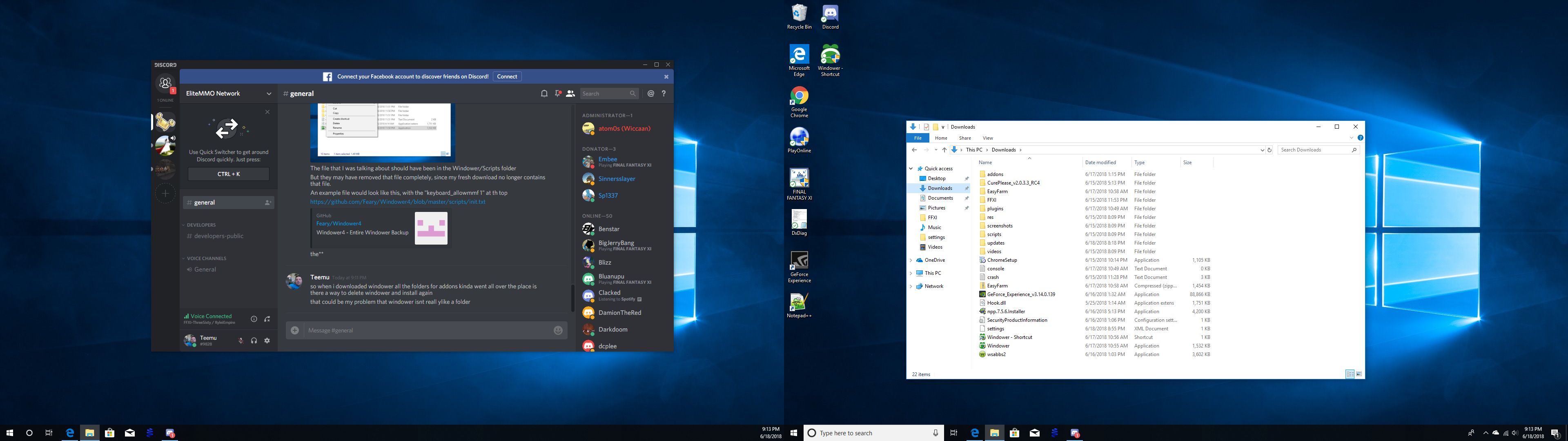 EasyFarm doesn't seem to work with Windower · Issue #355