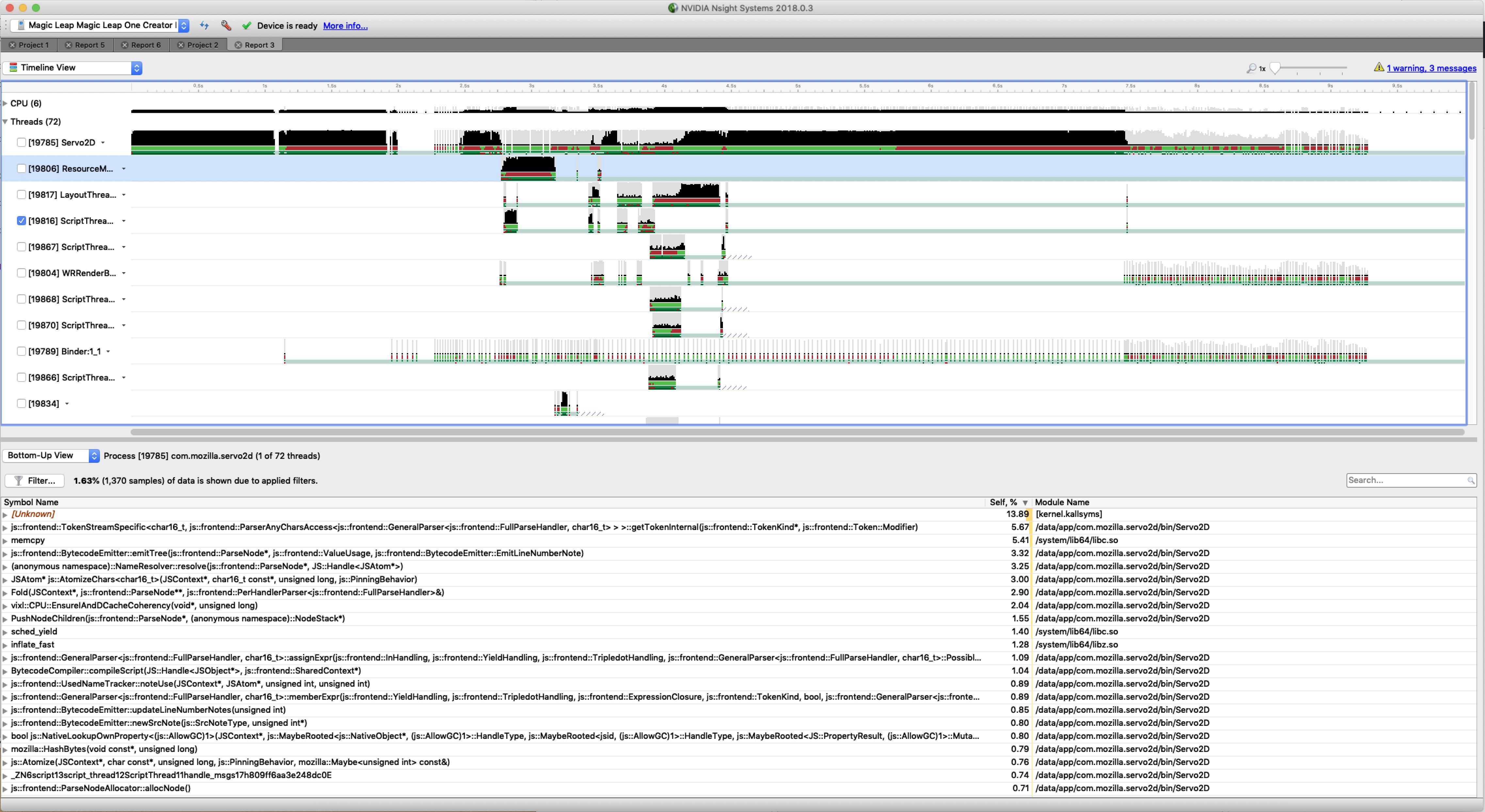 Profiling · servo/servo Wiki · GitHub