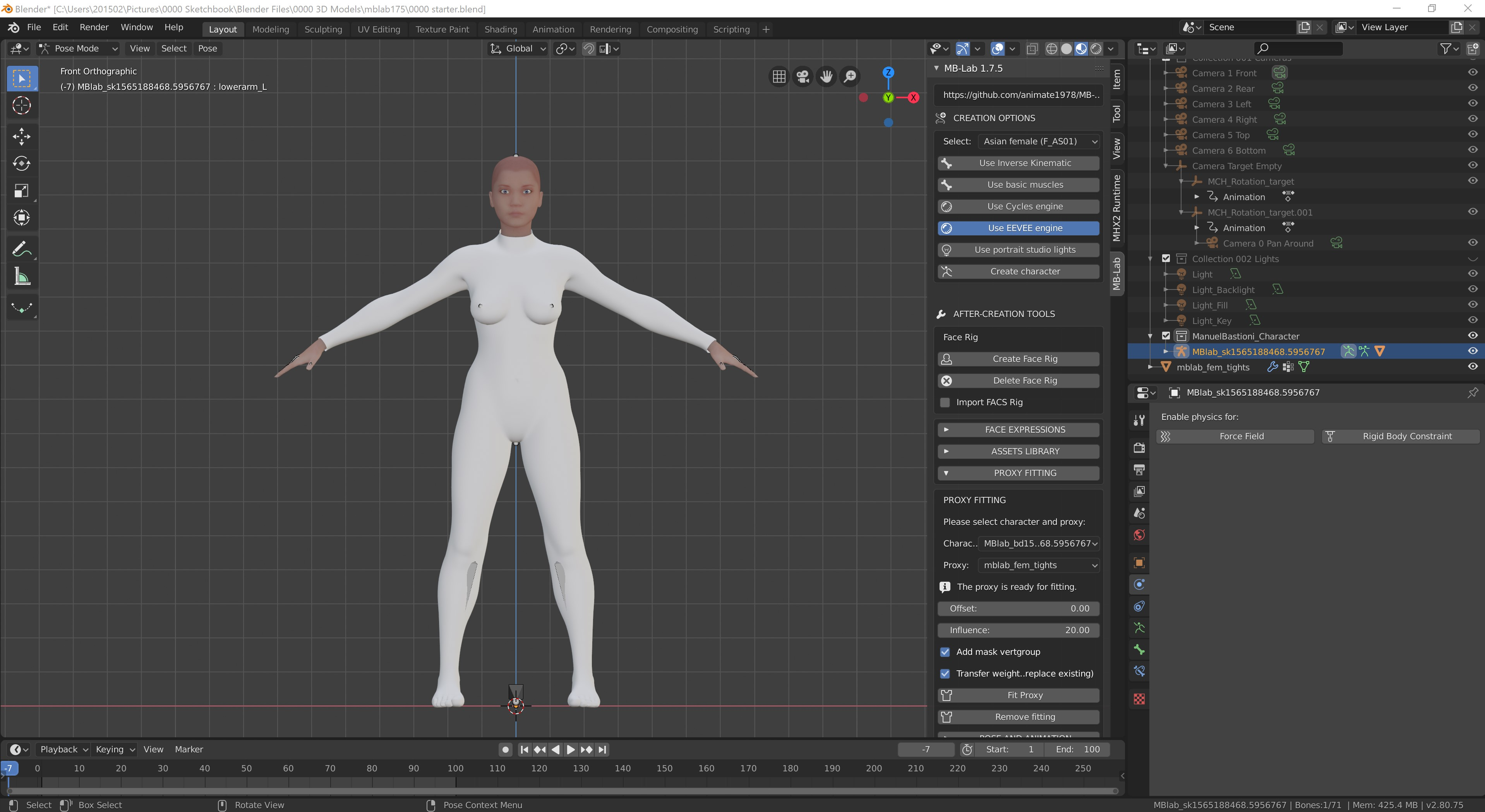 MakeHuman assets · Issue #25 · animate1978/MB-Lab · GitHub