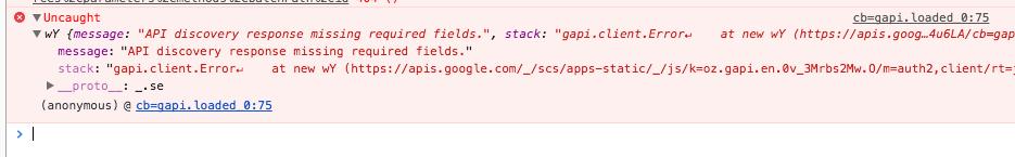 error handling · Issue #317 · google/google-api-javascript