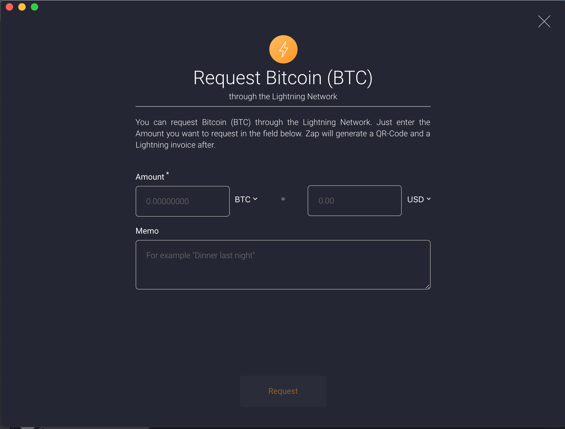 Inconsistent icons in pay and request forms · Issue #1610