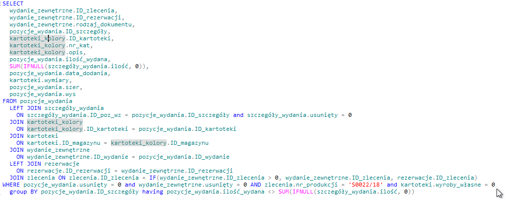 Tablename/variables highlighting · Issue #3736 · dbeaver/dbeaver