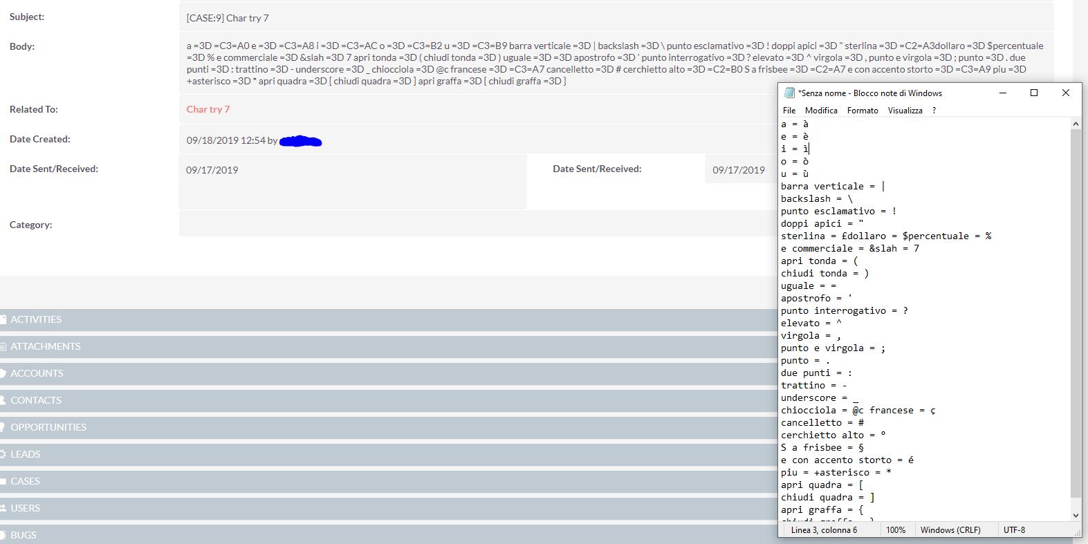 online in vendita nuovi stili scarpe da ginnastica Inbound email body contains utf8 hex code instead of real char ...