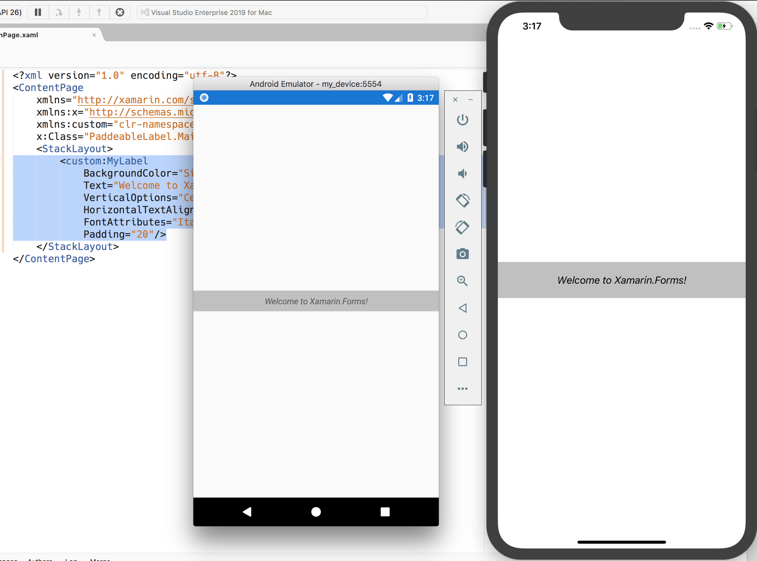 Enhancement] Padding on Label · Issue #4784 · xamarin/Xamarin Forms