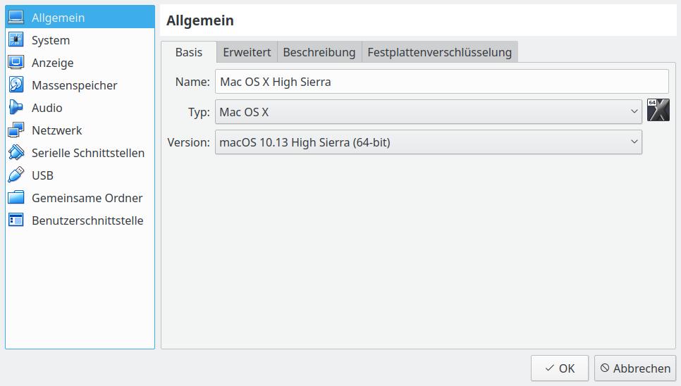 VirtualBox with High-Sierra fails,