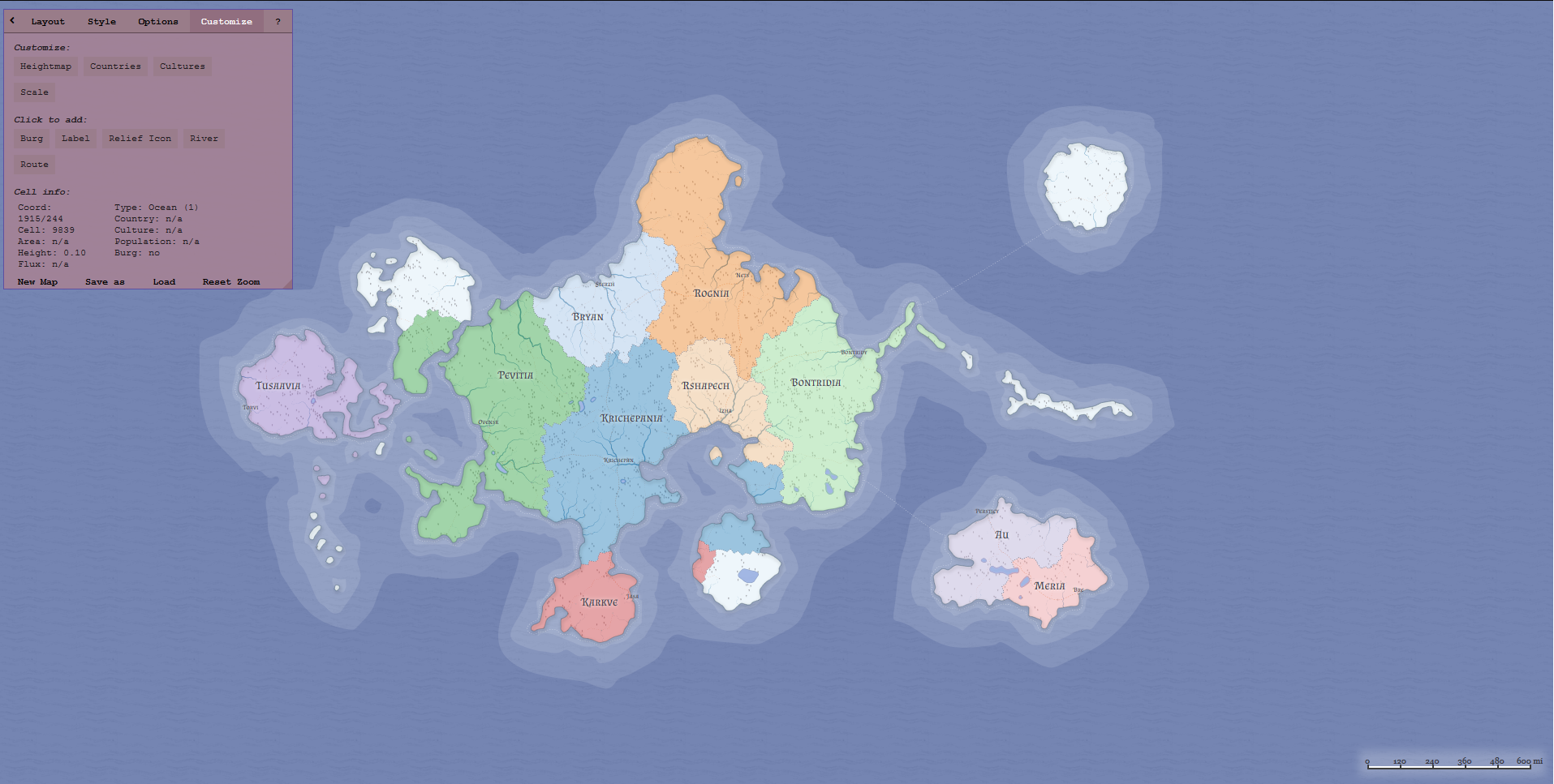 Creating a map without Countries bugs heightmap · Issue #108