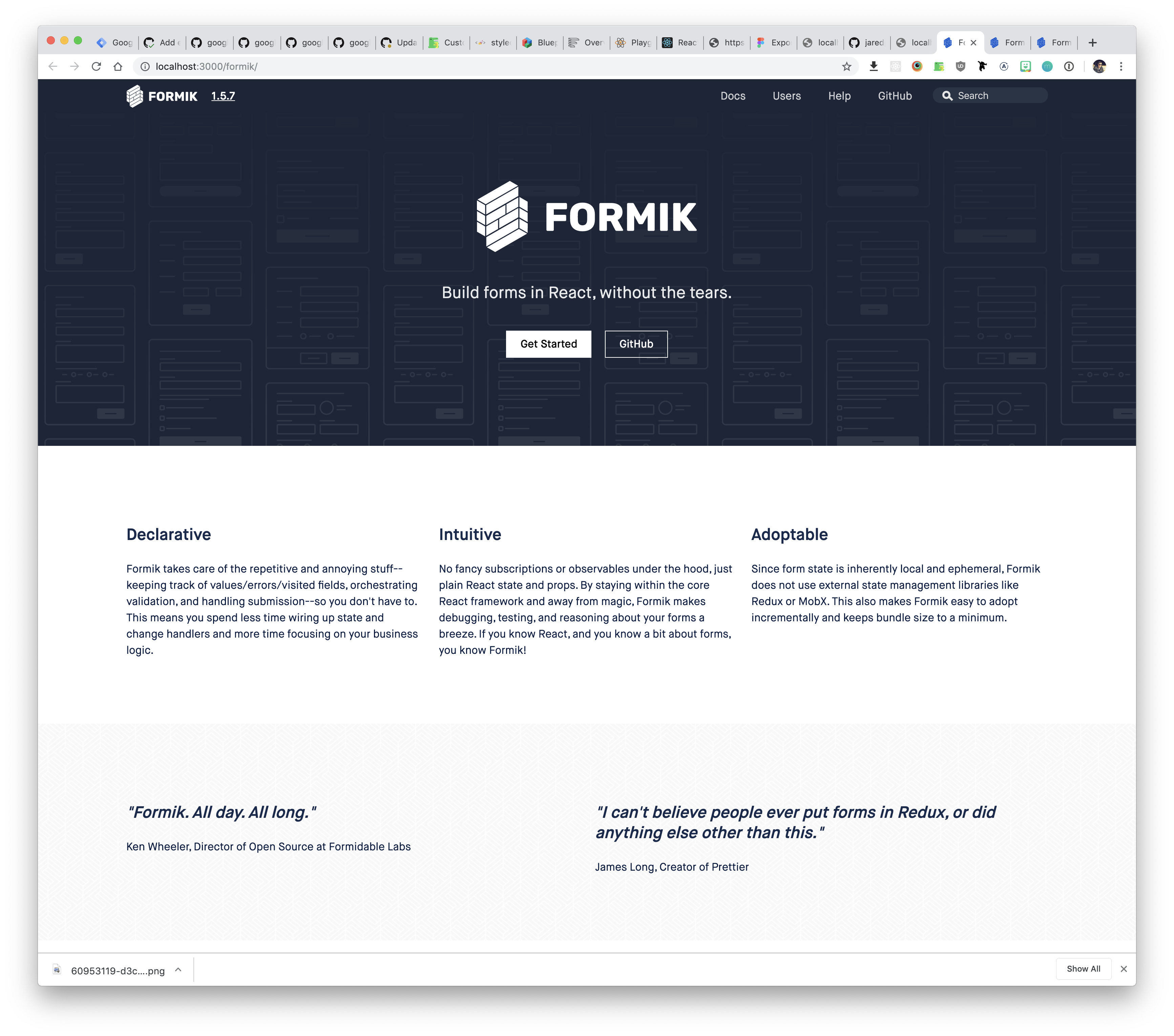 Formik Field Array Touched