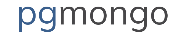 pgmongo logo
