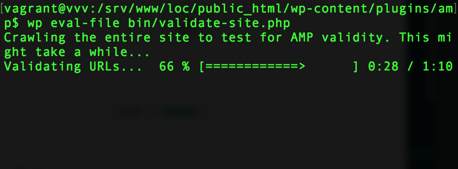 wp-cli-output