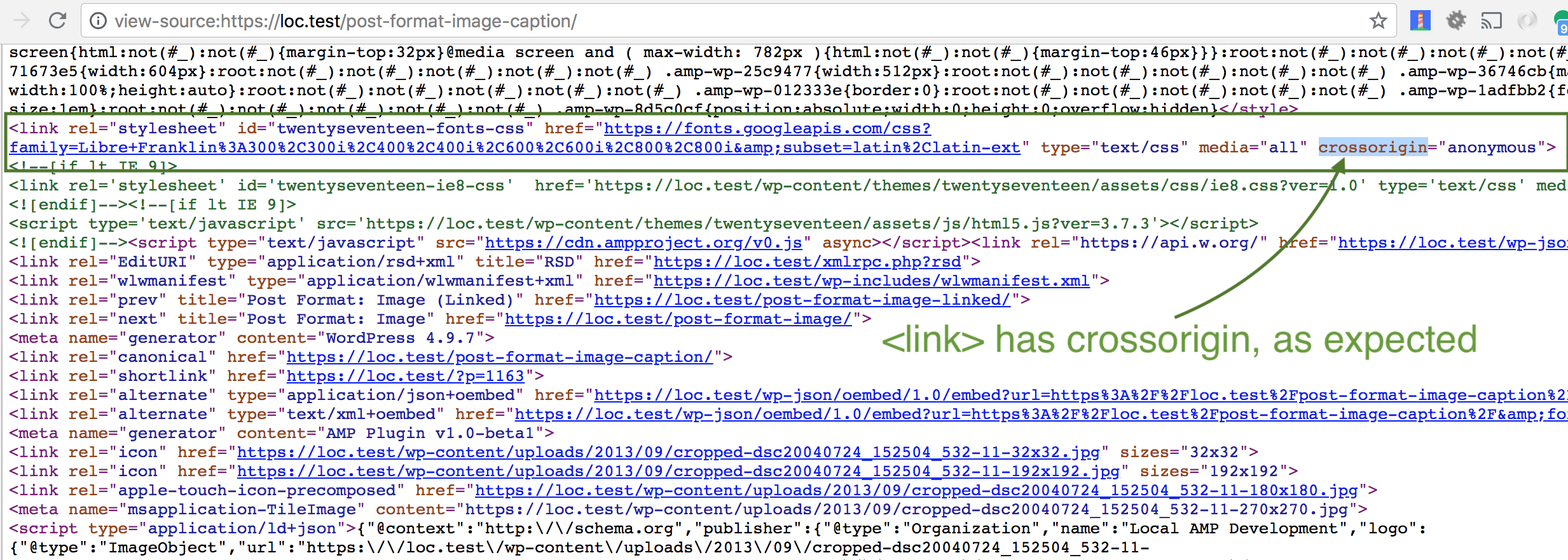 link-crossorigin