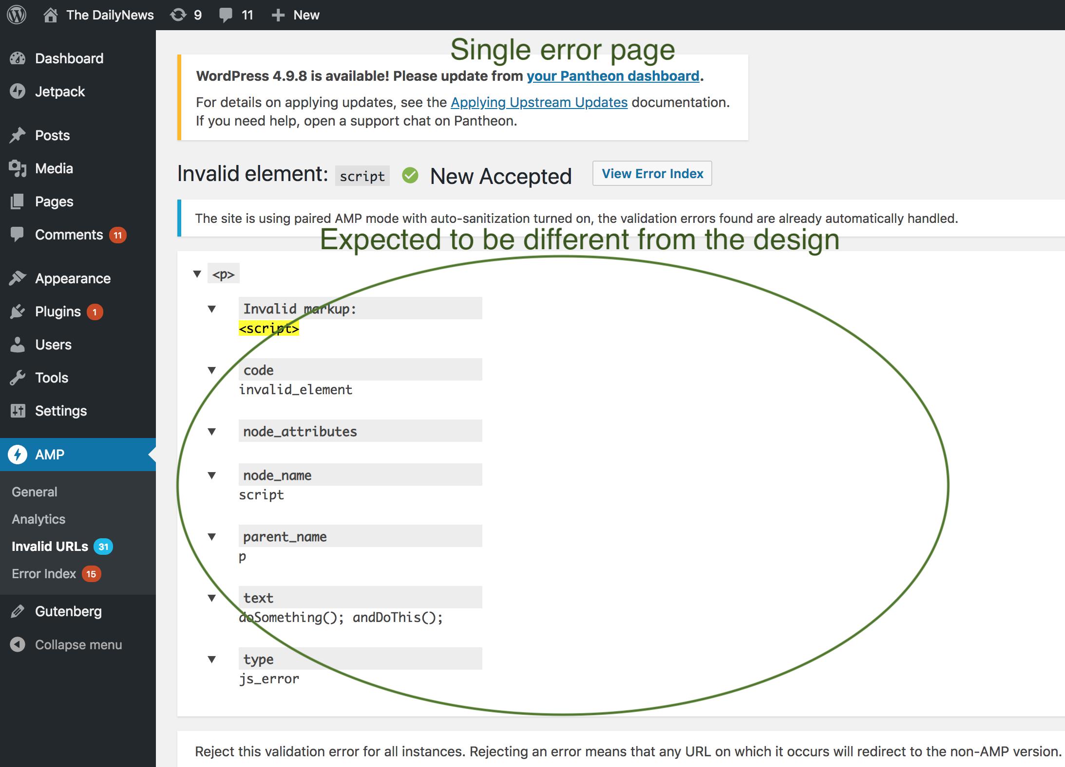single-error-page
