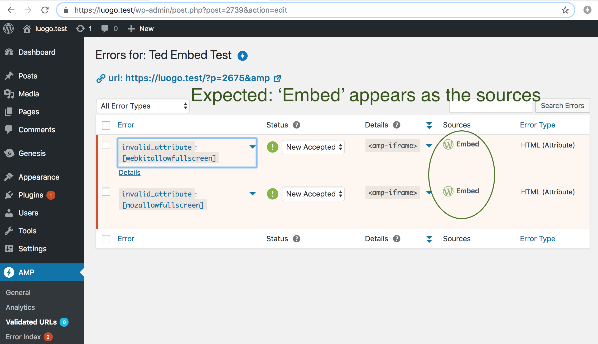 expected-amp-embed