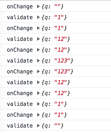 onChange/ onInput` not be fired if input value is a empty