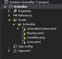 ActionBar is broken in several ways · Issue #14 · Noesis/Tutorials