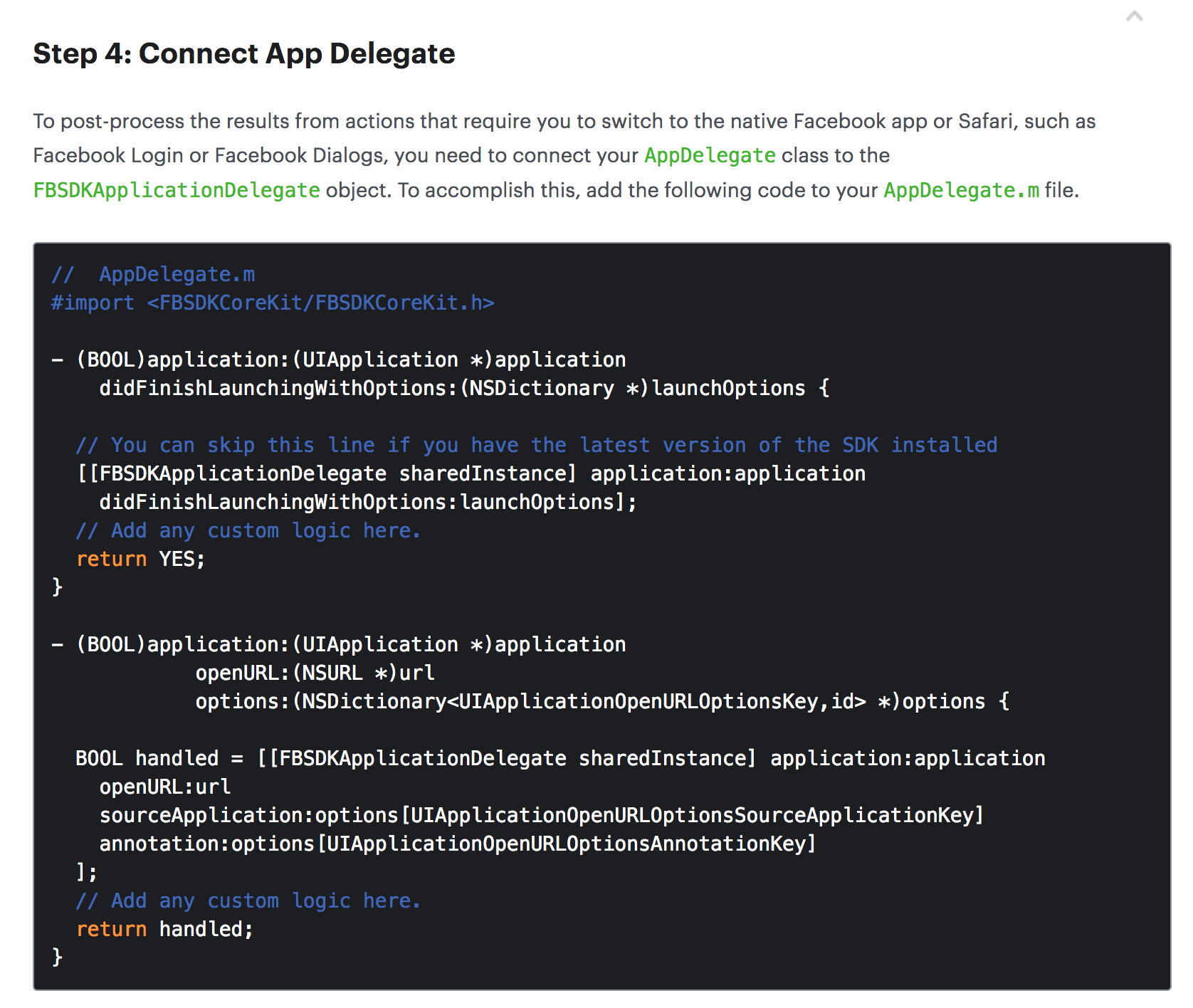 iOS: AppDelegate application:openURL:sourceApplication